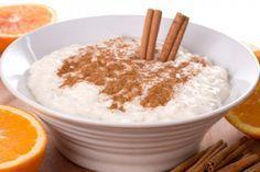 Mexican Rice Pudding (Arroz con Leche) I use recipe Crockpot Rice Pudding, Rice In Crockpot, Pudding Recipes, Köstliche Desserts, Delicious Desserts, Dessert Recipes, Dessert Healthy, Recipe For Greek Rice, Greek Rice Pudding
