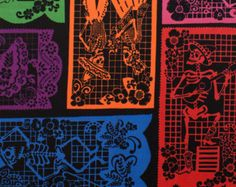 300 Laminated cotton fabric prints Free ship offer by Laminates Halloween Runner, Halloween Fabric, Laminated Cotton Fabric, Shiny Fabric, Color Patterns, Etsy Store, Fabric Design, Printing On Fabric, Etsy Seller