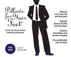 Pillows for Your Feet® For Men