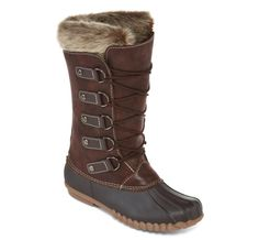 Yuu™ Fiona Womens Cold Weather Mid-Calf Boots