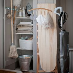 Looking for traditional utility room decorating ideas? Take a look at this utility room from Homes & Gardens for inspiration. For more utility decorating ideas, such as how to decorate with colour, visit our utility room galleries Cubby Hole Storage, Utility Room Storage, Utility Cupboard, Utility Sink, Laundry Decor, Laundry Room Design, Konmari, Utility Room Designs, Shelving Solutions