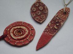 clay pendants
