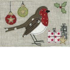 Emma Stead love the bird applique as a robin