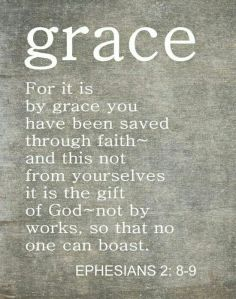 Thank you for your grace, God
