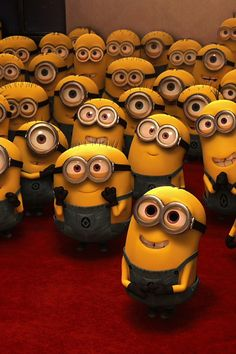 "sometimes I forget which minions pictures I have posted. But then I think, ""that's okay because you can never have too many minions!"""