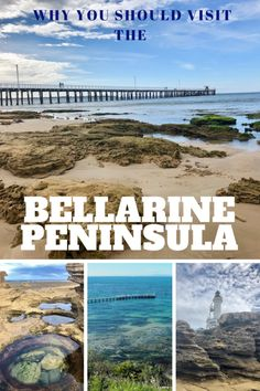 The Bellarine Peninsula is a popular summer destination near Melbourne. However, it's worth visiting even in winter. You'll find beautiful coastline, sleepy villages, deserted and wild beaches and plenty of delicious local produces and wines to indulge on Brisbane, Sydney, Australia Travel Guide, Visit Australia, Australia Holidays, South Australia, Western Australia, Travel Deals, Travel Destinations