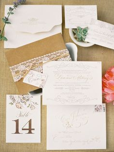 simple but gorgeous wedding invitation. vintage with Spanish flair. possible DIY project? Wedding Blog, Wedding Styles, Our Wedding, Dream Wedding, Wedding Ideas, Wedding Stuff, Lace Invitations, Invitation Paper, Invitation Suite