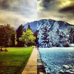 CU Boulder. Photo by kjellellefson