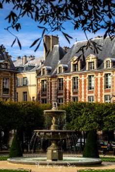 Place des Vosges, Marais, Paris, France - From the world of Marc Weisberg Architectural | Real Estate Interior photography.