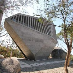 Sunset Chapel by Bunker Arquitectura, via jen
