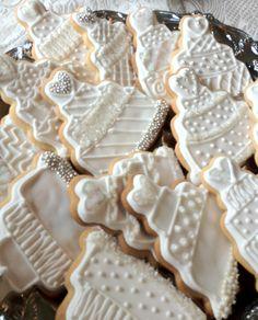 For Sharon's wedding shower :) Bake Sale Cookies, Shower, Baking, Wedding, Rain Shower Heads, Valentines Day Weddings, Bakken, Showers, Weddings