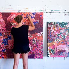 Hot and spicy in the studio today Spicy, Abstract Art, Studio, Hot, Artist, Artwork, Color, Work Of Art, Auguste Rodin Artwork