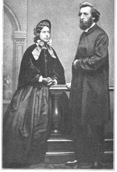 William and Catherine Booth, co-founders of  The Salvation Army.   *William Booth's birthday 10 April (1829)*   http://en.wikipedia.org/wiki/William_Booth  (the pin via Andrea Willis-Penner)