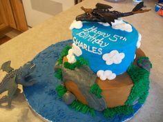 how to train your dragon sheet cake - Google Search