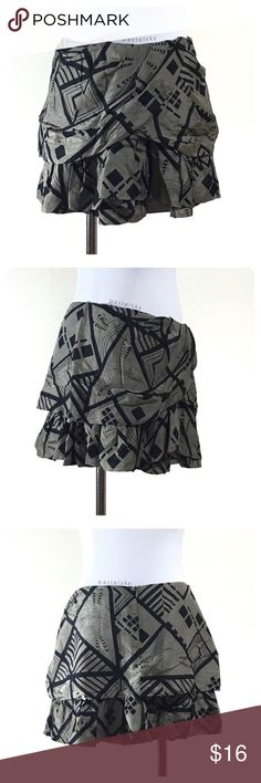 """F21 layered mini skirt PRELOVED in great condition, minor wear, nothing noticeable. zip back, eye hook closure  details ・medium ・15.5"""" waist (no stretch) ・"""" length  shell materials ・29% silk ・71% cotton   lining materials ・100% cotton  💰 use offer feature to negotiate price 🚫 i do not trade or take any transactions off poshmark  please don't hesitate to ask questions. happy POSHing 😊  lighting- color of actual item may vary slightly from photos. human hand measurements- give or take a few…"""