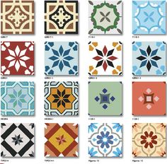 Different-Designs-Floor-Cement-Tiles-Handmade-Encaustic.jpg (651×641)