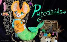 The Purrmaid: A Mermaid Cat Plush by KikiDoodle — Kickstarter