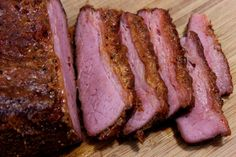 Nearly every St. Patrick's day season, the corned beef briskets show up in stores and I start getting emails about smoked corned beef brisket or making homemade pastrami. Pastrami is Smoked Corned Beef Brisket, Brisket Meat, Corned Beef Recipes, Smoked Meat Recipes, Beef Ribs, Pork Recipes, Spinach Recipes, Bbq Pork, Hardboiled