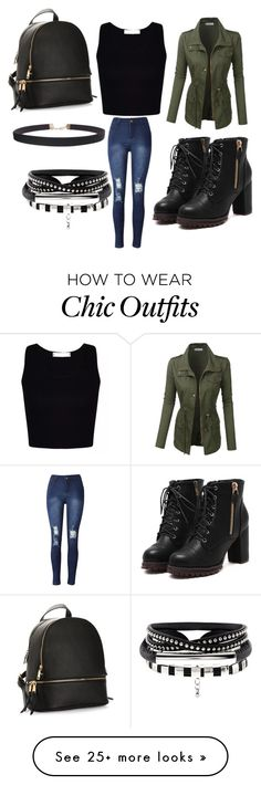 """"""""""" by katiem6 on Polyvore featuring LE3NO and Humble Chic"""