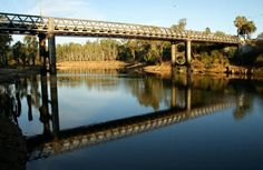 Bridge between Corowa NSW and Wahgunyah Vic