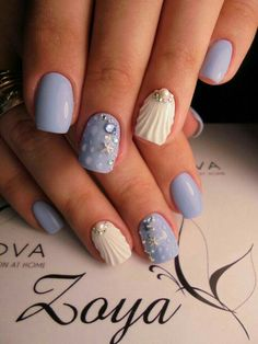 58 Hottest Beach Nail Ideas Designs for Summer