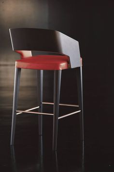 Potocco - Jolly collection by Wolfgang C.R. Mezger.  Chromed metal, wood and quality manifacturing: a rather explosive mixture that delivers a futuristic design without forgetting the bible of practical usage. A design cult.