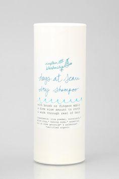 Captain Blankenship At Sea Dry Shampoo #urbanoutfitters