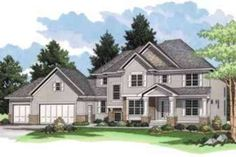 Front Elevation Plan #51-203 - Houseplans.com