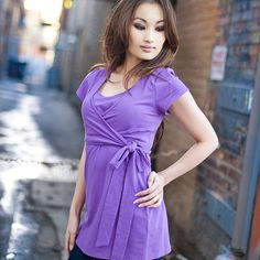 nursing top, good for maternity as well, or into a dress