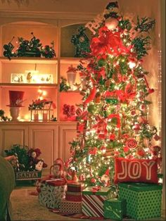 Unique Christmas Tree Themes   Creative Led Christmas Trees Design   Inspired Home Designs