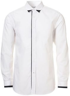 White Collar Tip Smart Shirt ($20-50) - Svpply