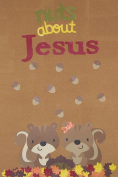 Up or Down They're Beautiful: Children's Church Bulletin Board...fall bulletin board