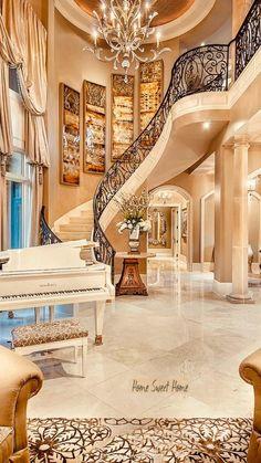 Mansion Interior, Dream House Interior, Luxury Homes Dream Houses, Luxury Homes Interior, Dream Homes, Mansion Bedroom, Dream Mansion, Modern Interior, Interior Architecture