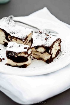 Chocolate-crusted quark cheesecake...try making this cheesecake with Davis Chocolate products...top it with our ChocoLava!