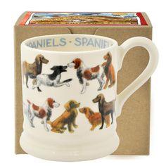 All Over Spaniel 1/2 Pint Mug Boxed