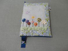 Caderno com capa de tecido