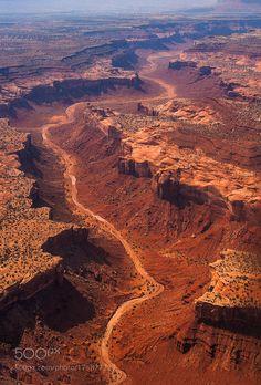 Grand Canyon Aerial by csillogo11