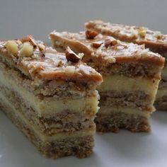 Sero-orzechowiec z masą krówkową (autor: agnieszkab) - DoradcaSmaku. Polish Desserts, Polish Recipes, No Bake Desserts, Bowl Cake, Different Cakes, Cake Bars, Savoury Cake, Sweet Cakes, How Sweet Eats