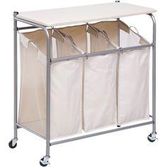 Honey-Can-Do Ironing and Sorter Combo Laundry Center: Storage & Organization : Walmart.com