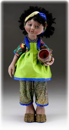 from these hands...: Chloe's Doll- The Doll