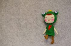 Frog Princess. $28.00, via Etsy.