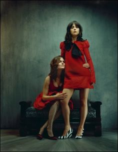 emily and zooey deschanel.... i would do really inappropriate things with either one of these women. <3