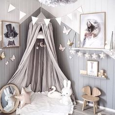 Happy Easter everyone! How gorgeous is this kid's room by @andrealingjerde  Miffy lamp and Vita Eos lamp in grey are all available online   .  #kidsroom #kidsroomdecor #kidsinterior #nordichome #nordicinspiration