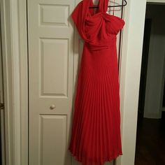 FLASH SALE$25 Light In the Box Fabulous Red Light in the Box - Fabulous Red Formal Gown, design from The Red Carpet Runway, custom size 22.  Empire with Shawl Drape Multi-Functional Styling, Pleated all over chiffon, full and flowing with lining, built in cups with back bra strap, full zipper.  (Can send photo in dress upon request.)  ***Worn 3xs only, like new. Light in the Box Dresses