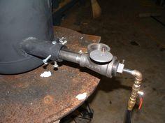 homemade used oil burner, propane burner design, gas burner design, venturi mixer design, on homemade pipe burner design.html