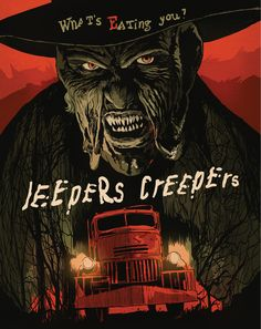 Jeepers Creepers DVD/Blu-Ray Cover - Francesco Francavilla