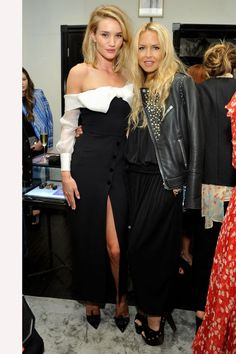 Guest Editor of harper by Harper's BAZAAR Rosie Huntington-Whiteley celebrates second issue in L.A, see who attended: