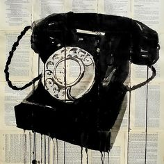 black phone by Loui Jover -- Reminds me of SDM!
