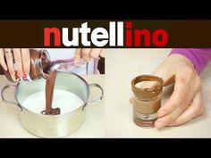 NUTELLINO Liquore alla Nutella Fatto in Casa - Homemade Nutella Liqueur Recipe - YouTube