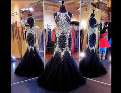 2015 Beaded Sexy Prom Dresses High Quality Silver Shining Long Prom Party Dresses with Cross Back Side Slit Formal Dress for Women Sheath